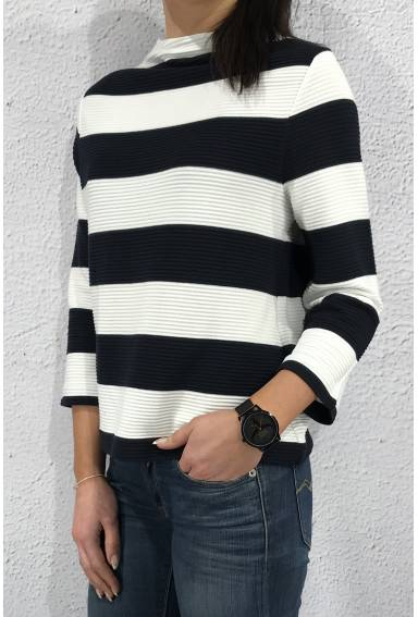 Limited OR Krisi structured Night Blue/ Stripe