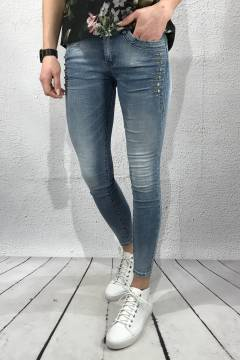 RD2198 Jeans Skinny bling Light denim