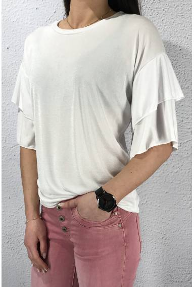 18222 Top volang White