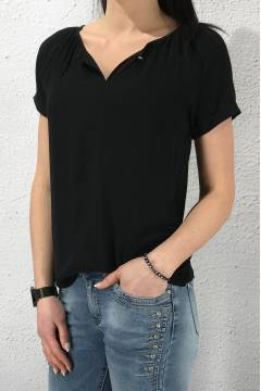 Carmen blouse Black