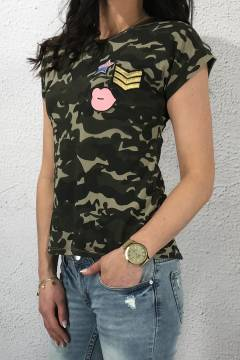 PH330 Alva T-shirt Armyprint
