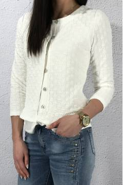 Jacket short structure Offwhite
