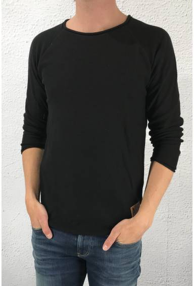 Isac knitted sweater Black