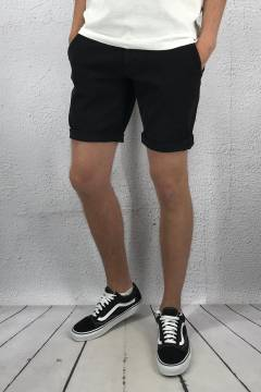 Lucca Chino Shorts Black