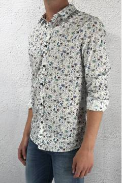 GLS 70790 Shirt White/Flower