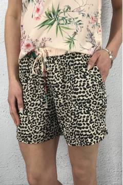Velma Shorts Leo/Flower