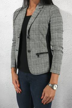 Blazer matmix Black/Check
