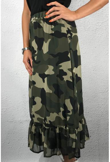 Emmy Skirt Camouflage