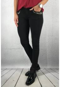 RD 2218 Jeans beads Black