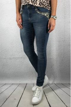 JW 5030 Jeans beads Blue Denim Denim