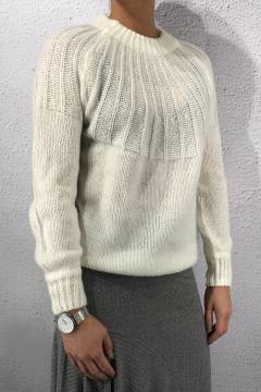 LEVIA-PU Knit Cream