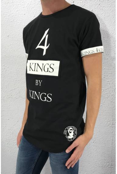 Tee 4 Kings Black