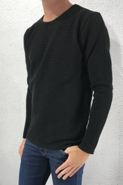 Aberdeen crew neck Black