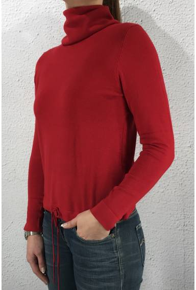 Pullover Crowl neck Pure Red