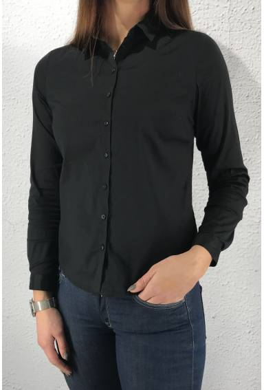 Business Blouse Black