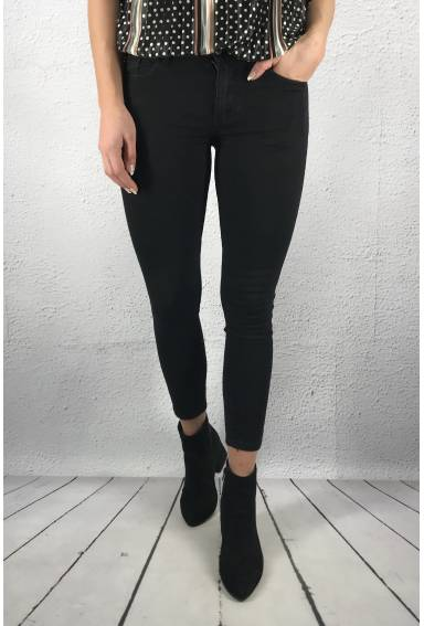 RD 6389 Jeans bow Black