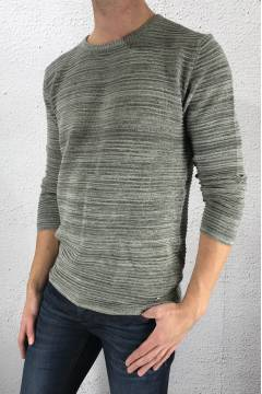 Stuan Sweat Grey Melange
