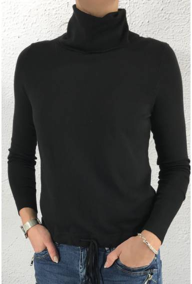 Pullover Crowl neck Black