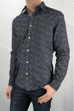 Gregor Shirt Dark Denim