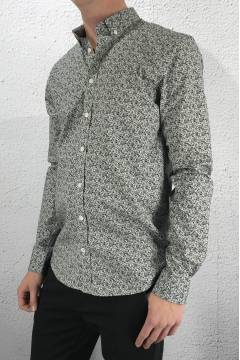 Giotto Shirt Black/White