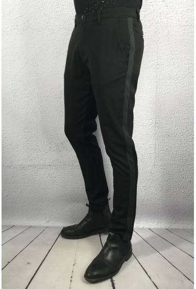 Fredric Pant pipe Black/Grey