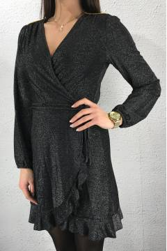 Mary Dress Black/Silver