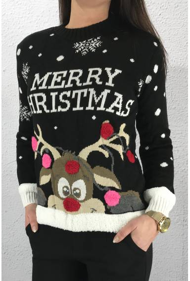 Christmas Sweater Black