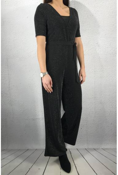 City Jumpsuit Black