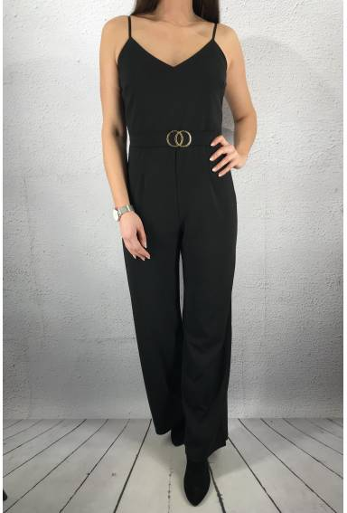 Galma Jumpsuit Black/Gold