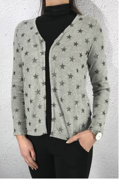 Short cardigan/jacket Moon grey