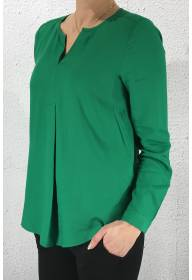 Blouse v-neck Jolly Green
