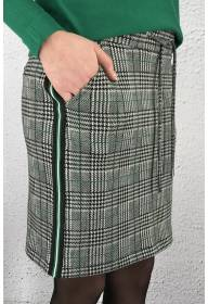 Happy Jog Skirt Black/Green