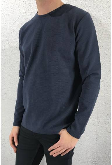 Sweat CB l/s Blue