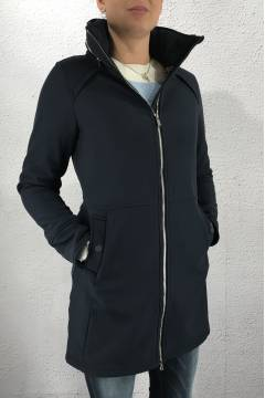 Feminin softshell Parka NightBlue