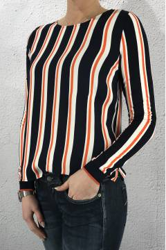 LDT QR Shirt Odella Orange/Blue