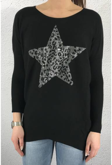 Sweater Leostar Black