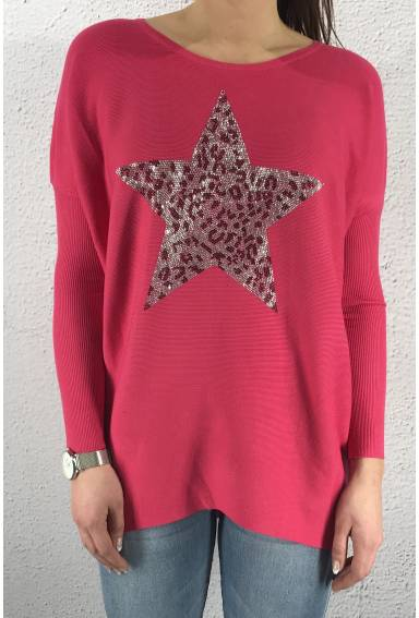 Sweater Leostar Cerise
