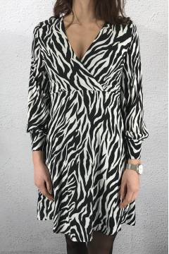 Gerdo Dress Zebra