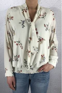 19107 Blouse Offwhite/Flower