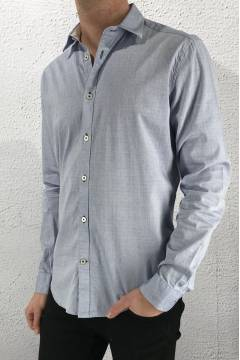 Angust Shirt Light Blue