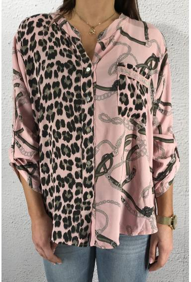 2010 Blouse chaines Pink