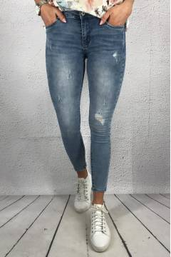 RD 5398 Jeans slim Destroyed Light denim