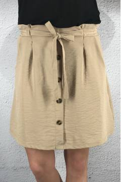 NL 4239A Skirt button Beige