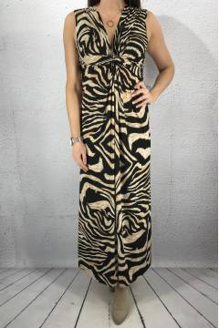 3044 Dress Tigerprint