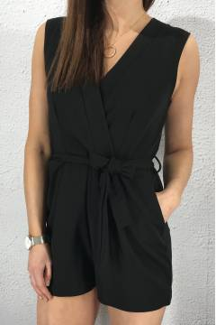 Gram playsuit Black
