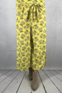 Erbi Pant Yellow/Flower