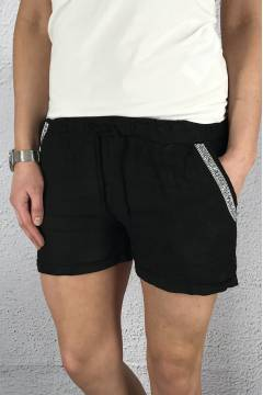 371 Linne Shorts Black Bling