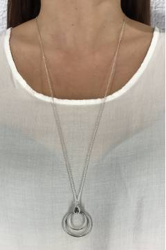 W543 Necklace Silver