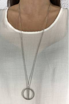 W4305 Necklace Steel