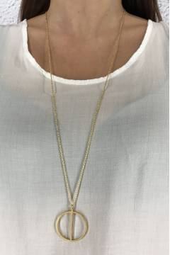 W4305 Necklace Gold